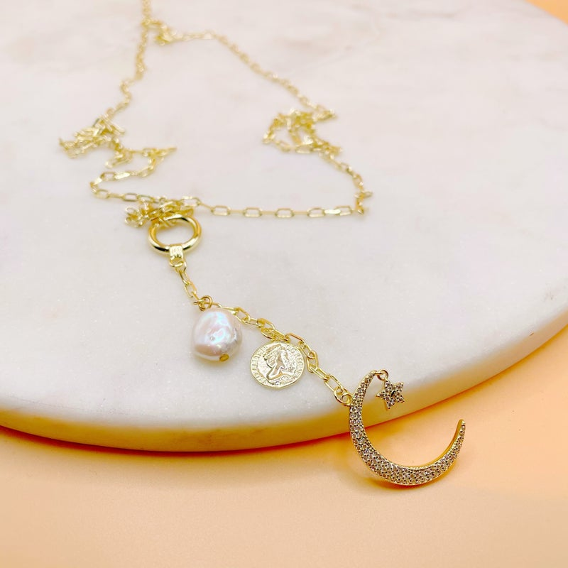 BB Lila Into The Night Necklace