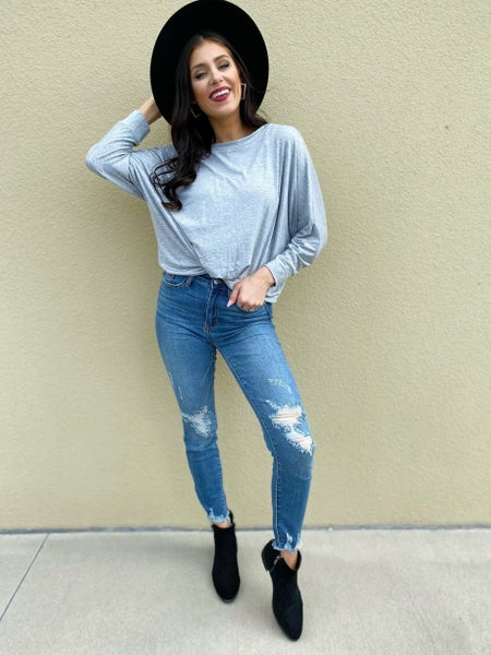 Judy Blue Easy As Can Be Skinny Jeans