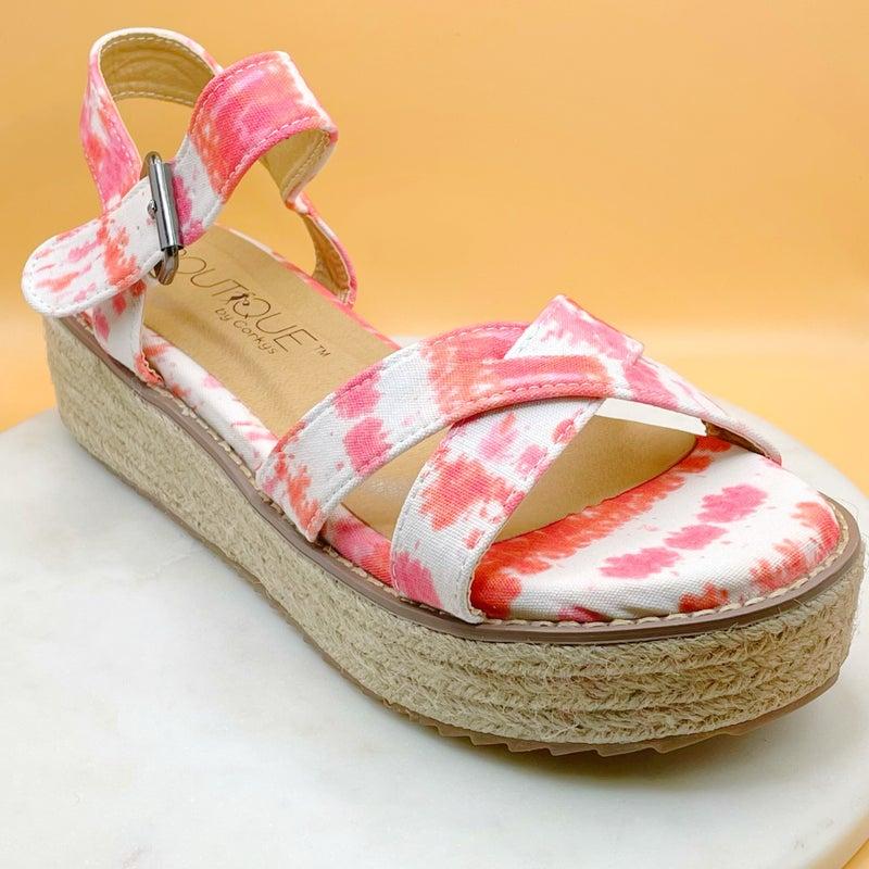 Corky's Pilot Platform Sandals- 3 Colors!