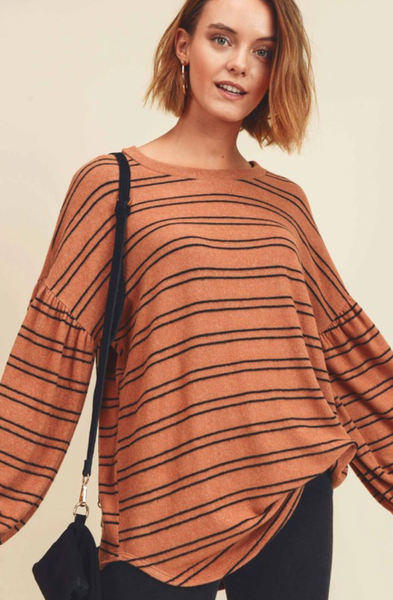 Lovey Striped Top