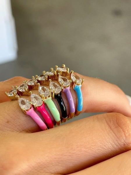 By Alexa Rae Kiss Ring - 6 Colors!