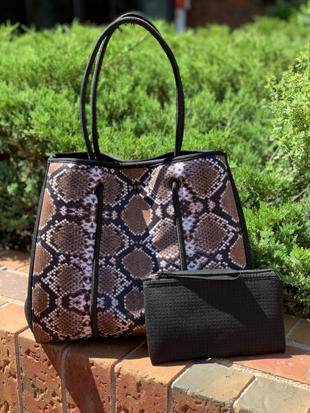 LILLY TOTE SNAKE