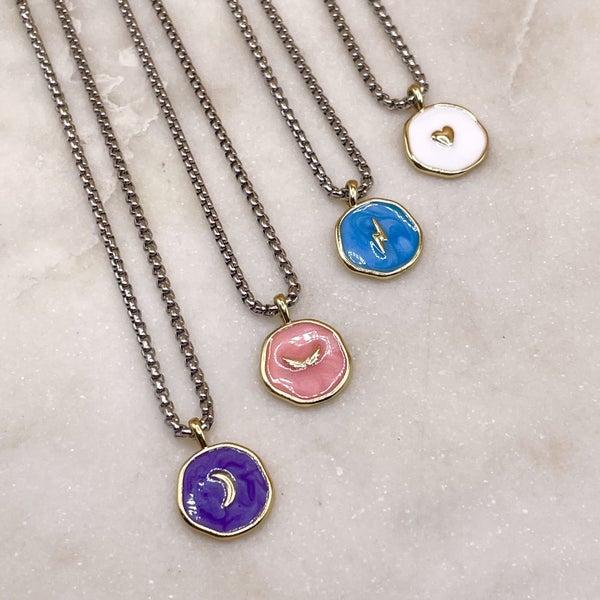Melania Clara Eden Necklace - 4 Colors!
