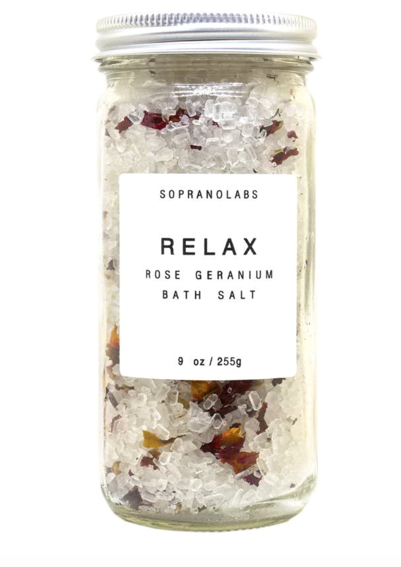 SopranoLabs Vegan Bath Salts