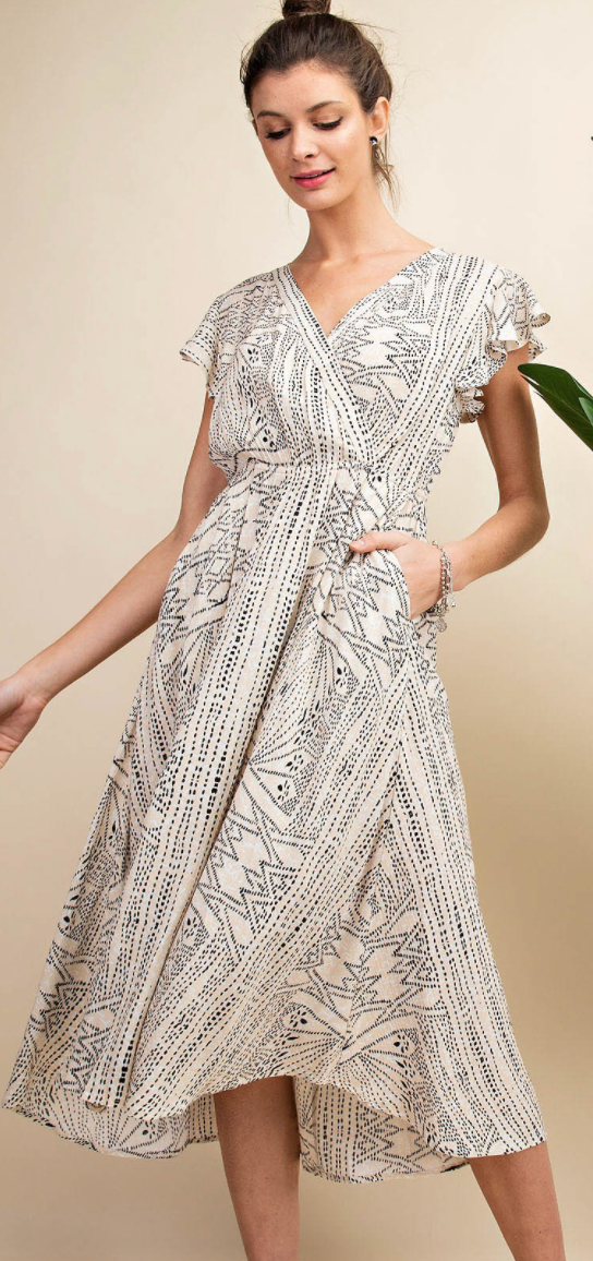 Geometrically Speaking Dress