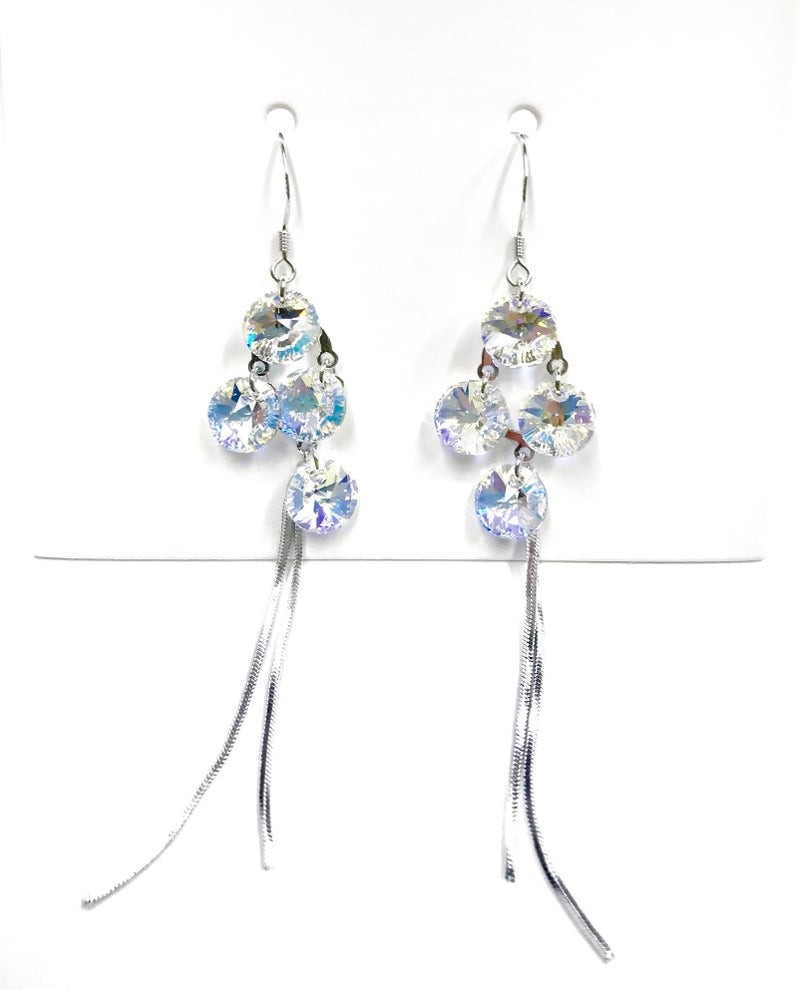 Love Poppy Swarovski Jellyfish Earrings