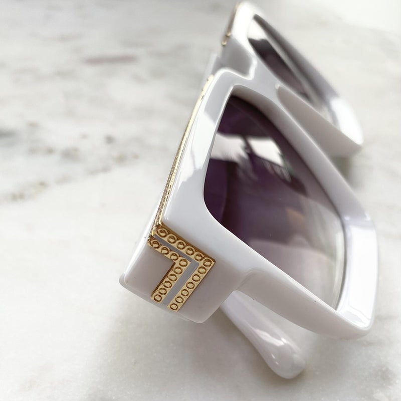 Floats Ego Billionaire Fashion Sunglasses - 2 Colors!
