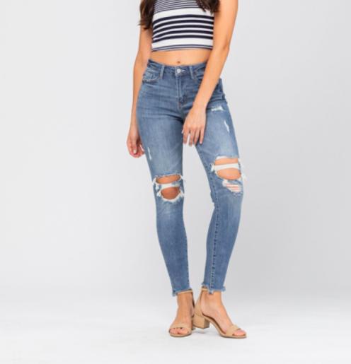 Judy Blue Somethin' Good Skinny Jeans