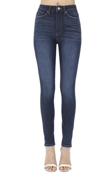 The Buzz - KanCan High Rise Skinny Blue Jeans