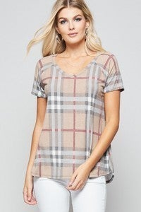 Basic Plaid Tee