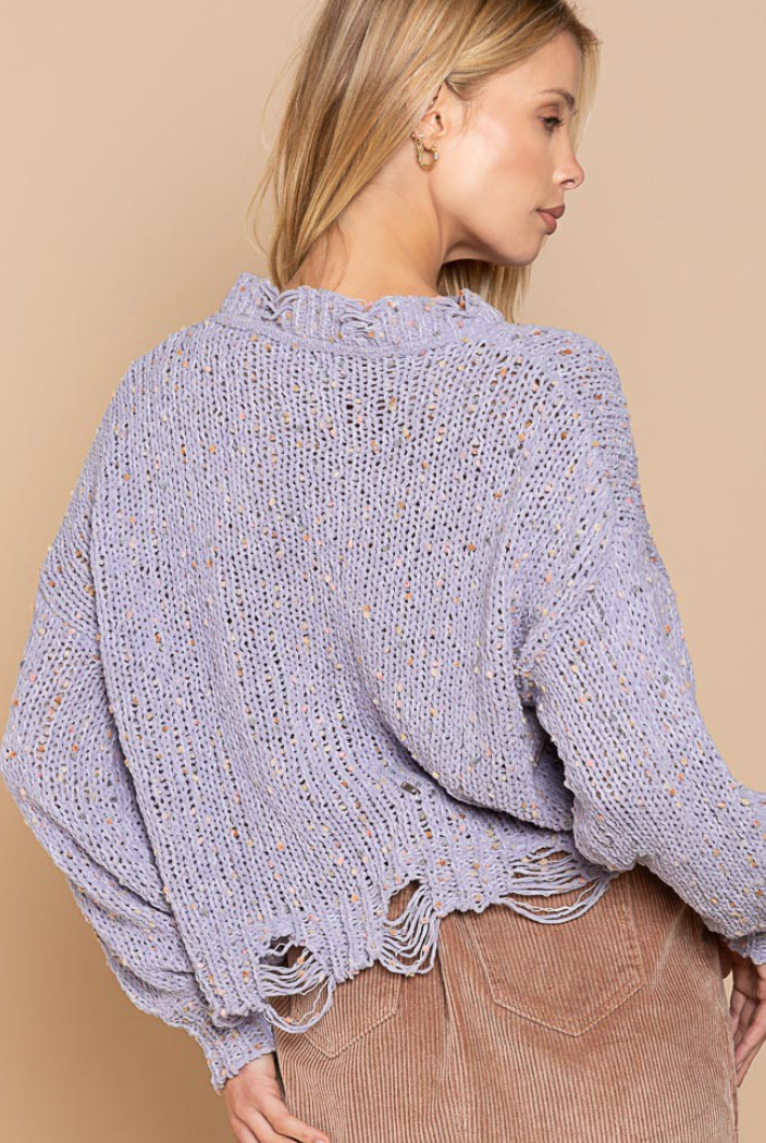 Popcorn Candy Sweater - 4 Colors!