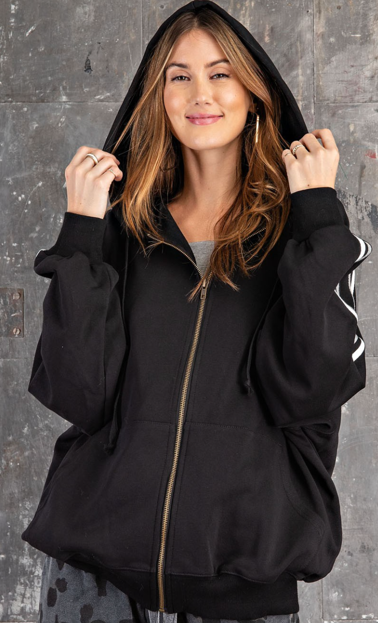 Athletic Apparel Vibe Hooded Jacket