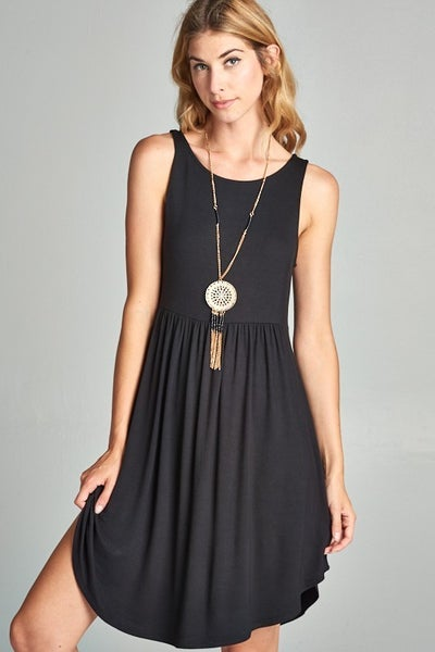 SIMPLY PUT BABYDOLL DRESS