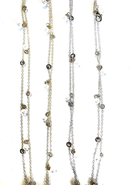 Glam Necklace - 2 Colors!