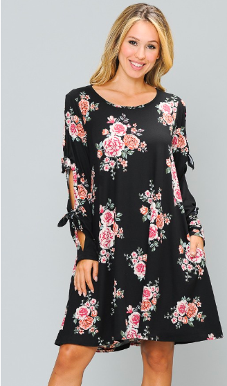 *PLUS EXCLUSIVE* You Had Your Shot Floral Dress