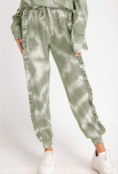 Down To Earth Tie Dye Joggers