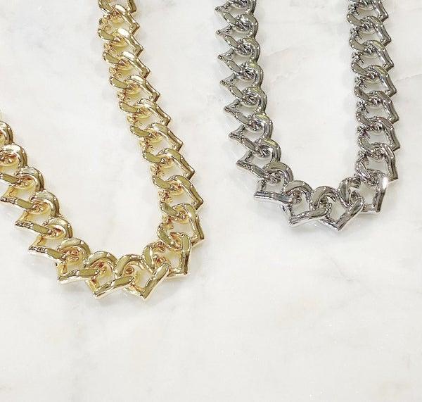 Melania Clara Forever Together Necklace - 2 Colors