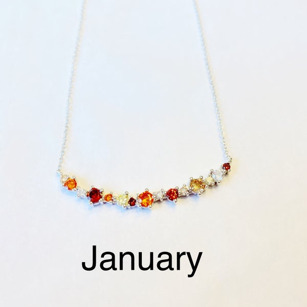 Hespera Birthstone Necklaces