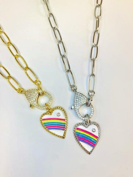 Melania Clara Rainbow Bright Necklace