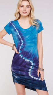 Go Viral With The Spiral Midi Dress