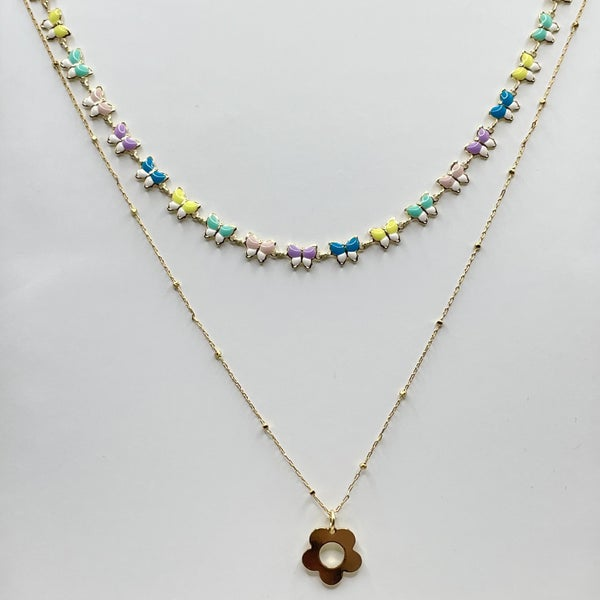 By Alexa Rae Spring Necklace Set
