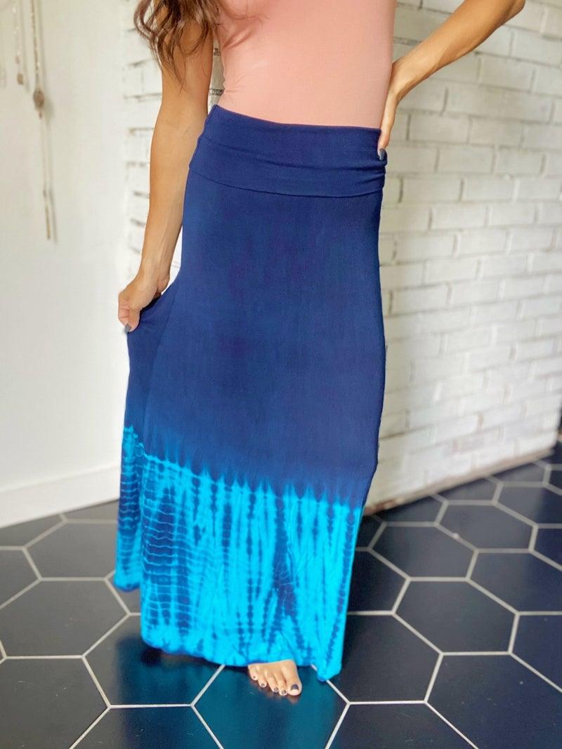 Mermaid Waters Maxi Skirt