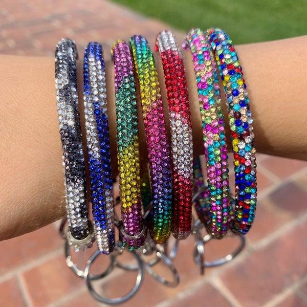 Bling Key Ring Bracelet - Multi
