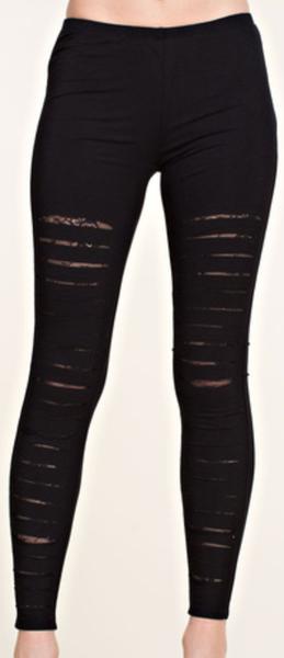 Lace Race Laser Cut Leggings