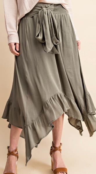 Sidewinder Skirt - 2 Colors!