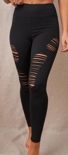 Cuttin' Up Leggings - 3 Colors!
