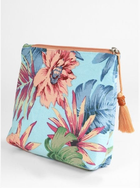 Tropical Cosmetic Bag
