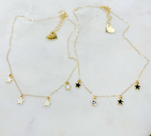 Love Poppy All My Star Necklace - ( 2 Colors)