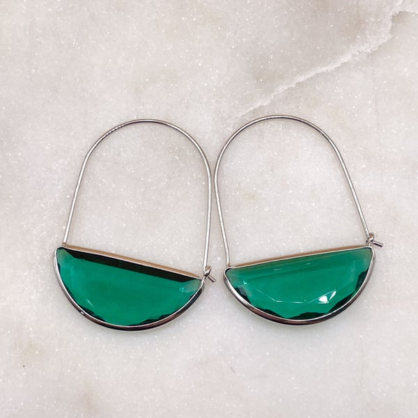 By Alexa Rae Belle Earrings - Silver