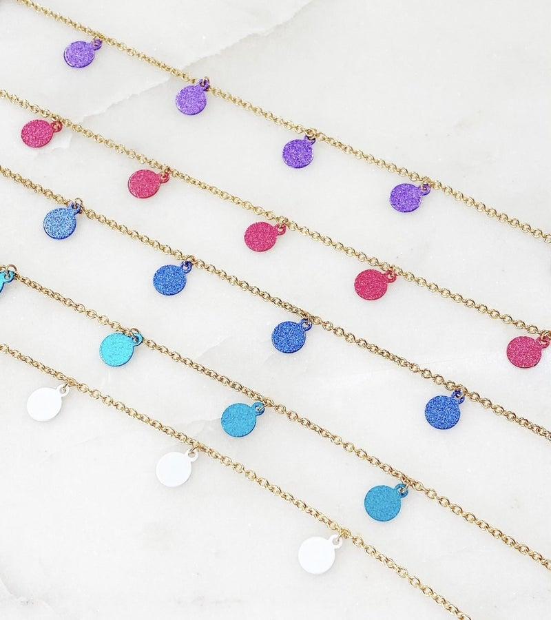 Melania Clara Amelia Necklace - 5 Colors