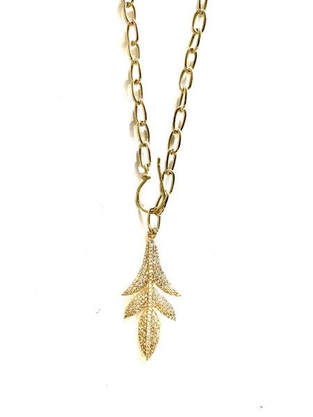 Hila Snap Dragon Necklace