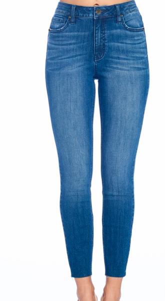 Clara High Rise Skinny Crop Jean