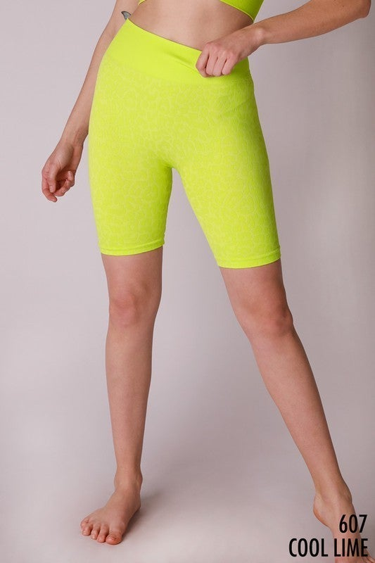 All Over The Road Biker Shorts - 8 Colors!