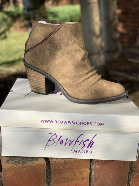 Blowfish Liberty Bootie - Taupe