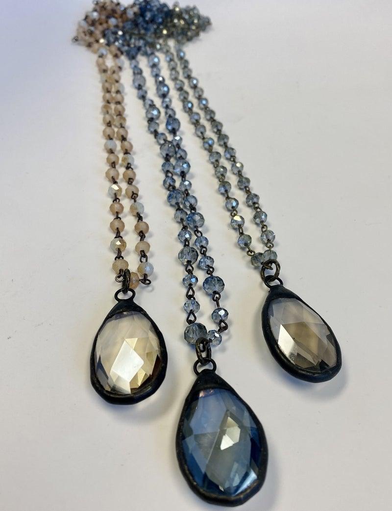 Melania Clara   Crystal Closeout Necklace!