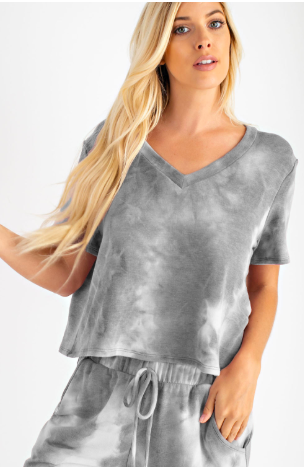 Comfy and Chic Top - Grey