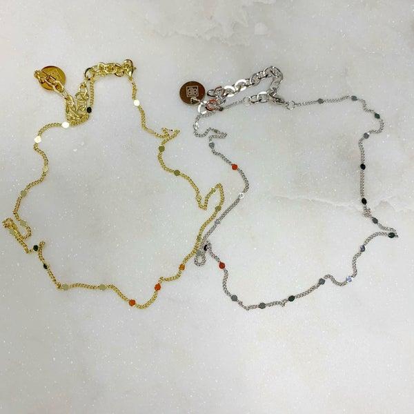 BB Lila Dainty Gal Necklace