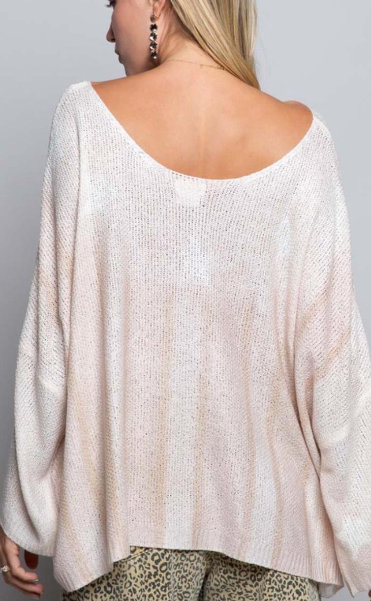 Vintage Sky Sweater - 2 Colors!