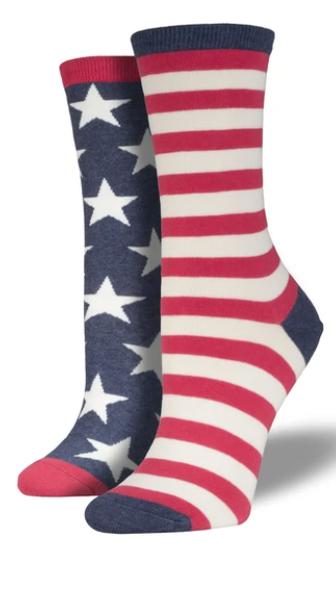 Flag Socks - Women's