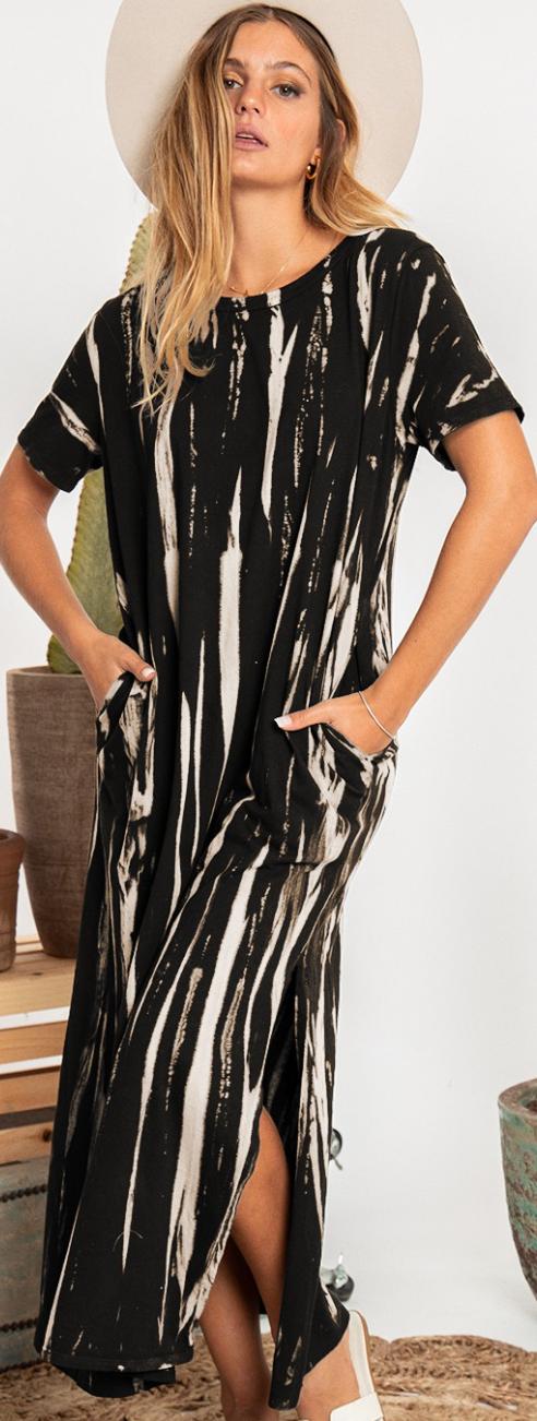 Practical Sides Dress - 2 Colors!