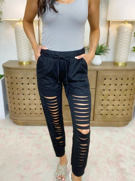Laser Focused Joggers - 2 Colors!