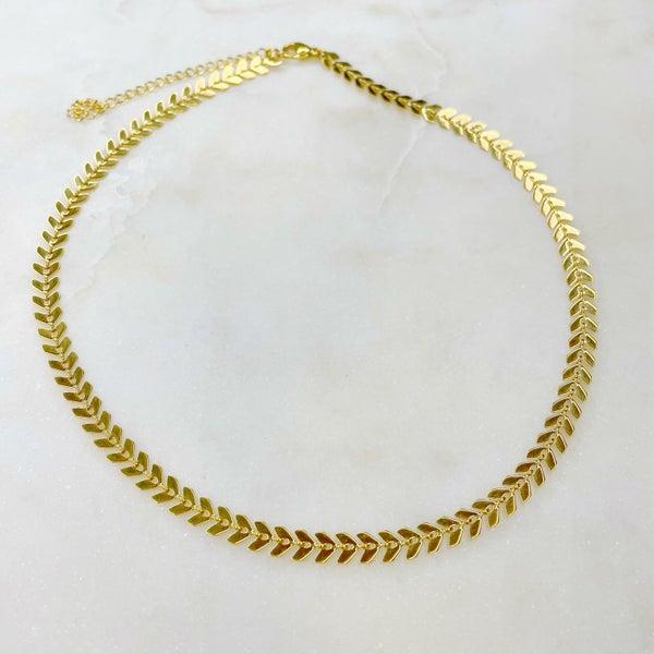 Oak & Ivy Arrow Necklace - (2 Colors)