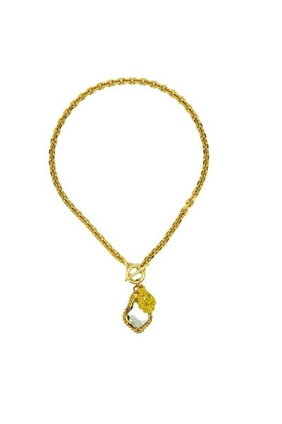 Melania Clara Lupe Necklace - Gold