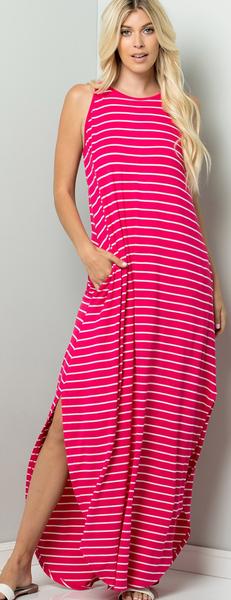 Together We Stride Maxi Dress - 2 Colors!