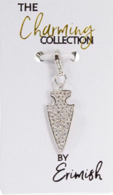 Erimish Arrow Charm - Silver
