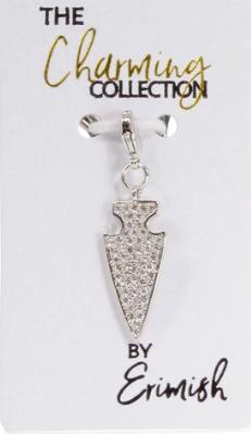 Erimish Arrow Charm - Silver